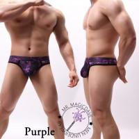 新品星空圖案印花底腰性感男士丁字褲 底褲 內褲 內著 男裝內衣